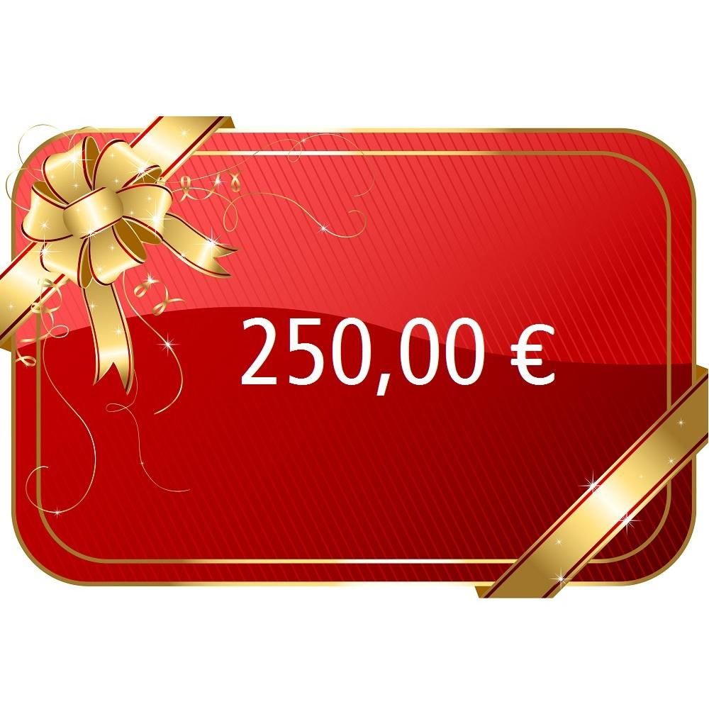 250,00 € Gutschein