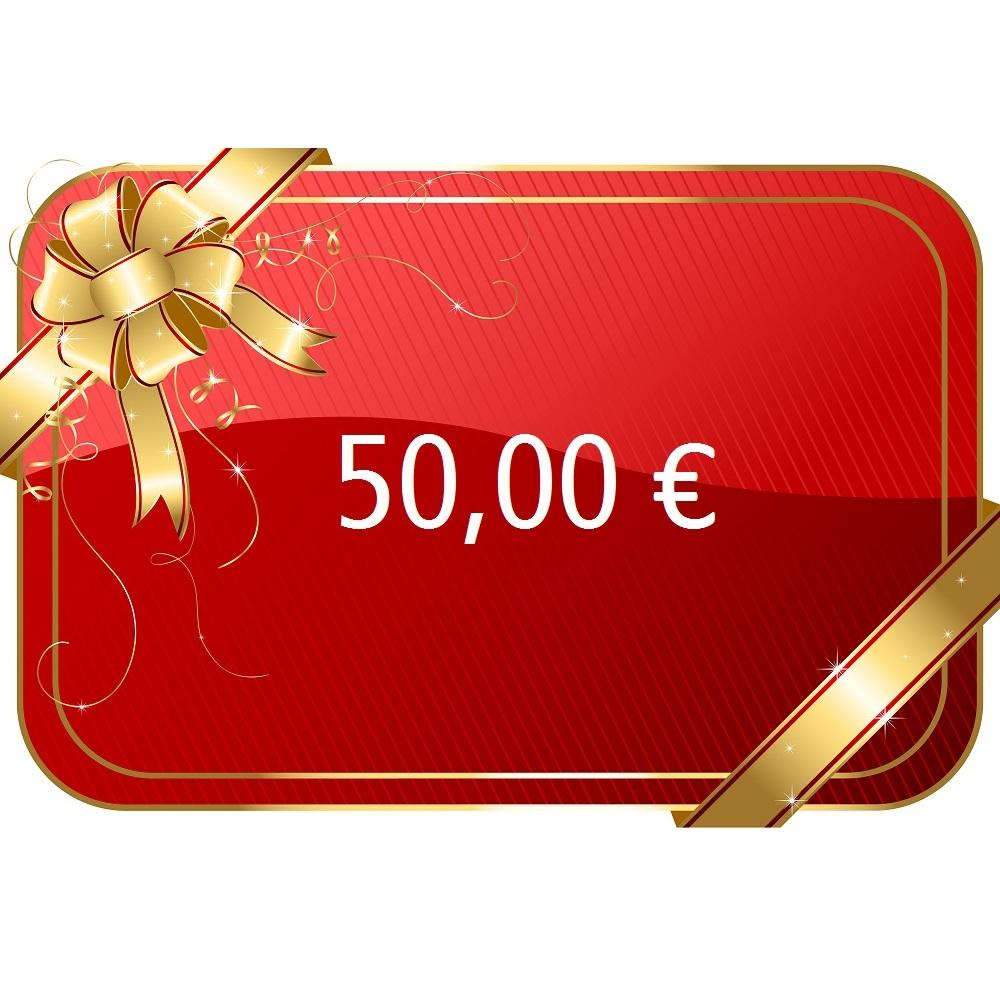 50,00 € Gutschein