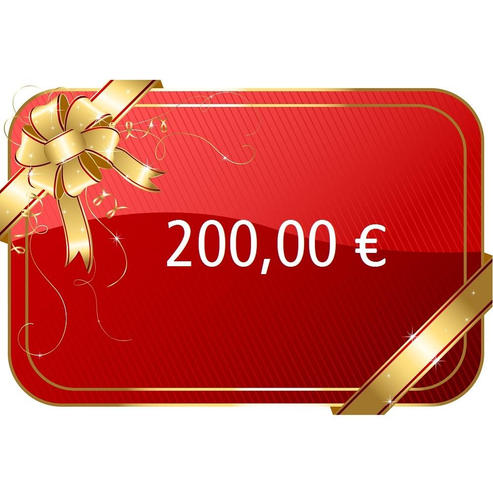 200,00 € Gutschein