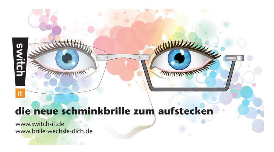 Switch It Garnitur - Schminkbrille