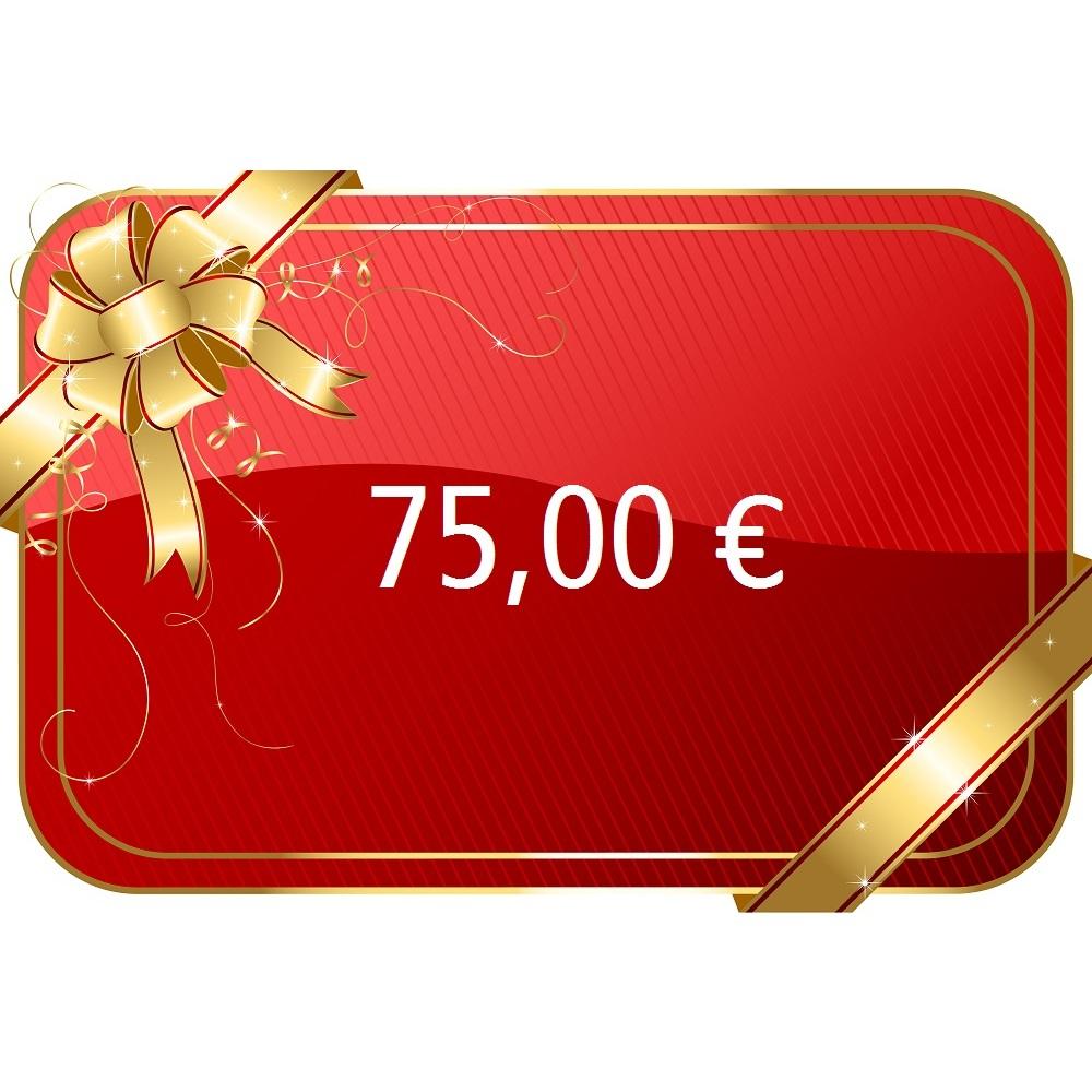75,00 € Gutschein