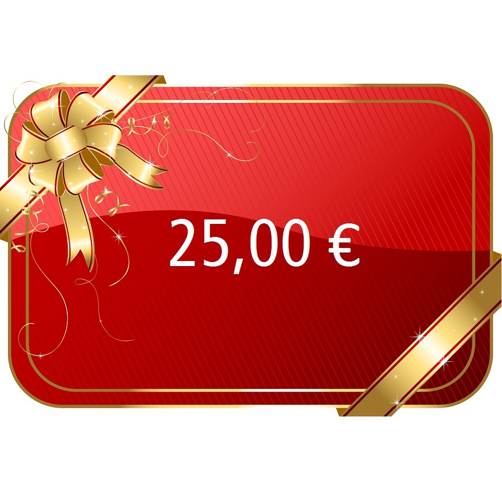 25,00 € Gutschein