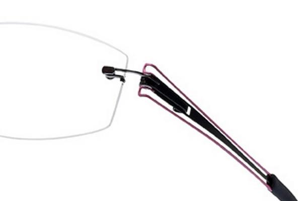 Minima 5 Plus - Bügelset T3 (110 Noir-Rose)